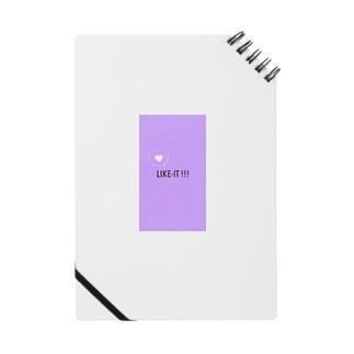 LIKE-IT !!! ロゴノート Notes