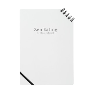 ZenEatingオリジナルグッズ Notes