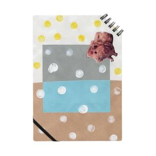みずたまとふわふわ茶色い子 Notebook
