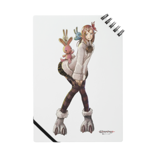 Wizardry Online 公式グッズのジュジュさん ~バニースタイル~ノート