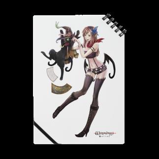 Wizardry Online 公式グッズのジュジュさん ~アルプスタイル~ノート