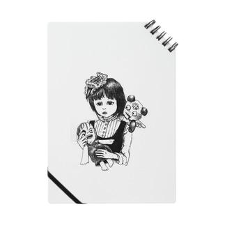 呪いの人形と少女 ノート