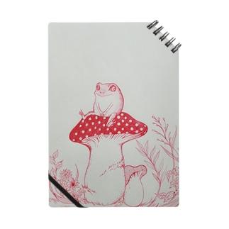 カエルとキノコ Notes