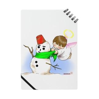 雪だるまと仲良し天使ちゃん Notes