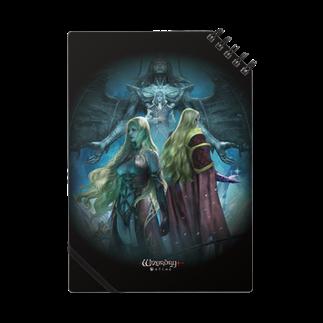 Wizardry Online 公式グッズのWizardry Online ~昏き揺らぎの地~ノート