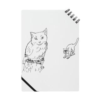 ネコとミミズク Notes