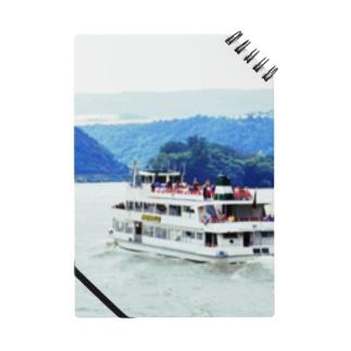 ドイツ:ライン川の観光船 Germany: Ship at Rhein Notes