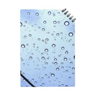 雨上がりの雨粒。 Notes