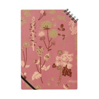 野の草花(ピンク) Notebook