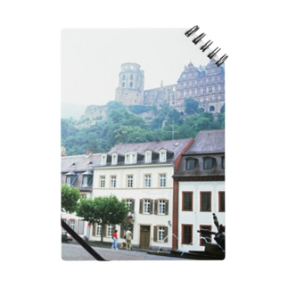 ドイツ:ハイデルベルク城と旧市街 Germany: view of Heidelberger Schloss Notes