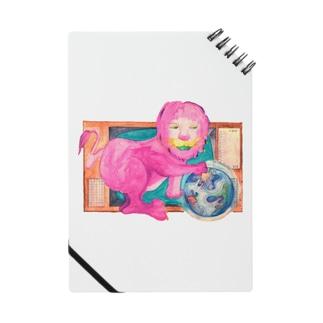 ピンクのライオン Notes