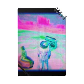 宇宙飛行士と人魚像とラジオ Notes