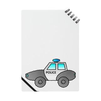 警察車両 Police Car Notes