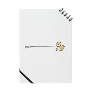帰りたくない柴犬 Notebook