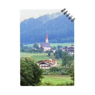 ドイツ:山岳地方の風景写真 Germany: view of a mountain village Notes