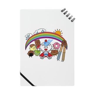 ユーミーマンとお菓子な仲間たち Notes