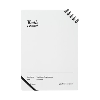 YOUTH LOSERのYouth Loser Ring Notebook Notes
