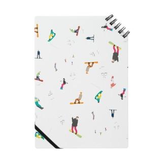 Skigelande people Notebook