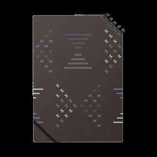 creocordensのbutterfly ribbonノート