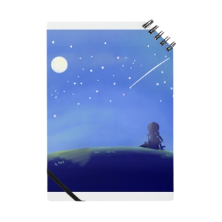 夜空を眺める少女【風景】 Notes