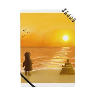 海に沈む夕陽【風景】 Notes