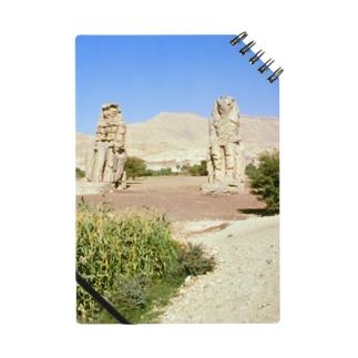 エジプト:メムノンの巨像(アメンホテプ3世像) Egypt: Colossi of Memnon (Amenhotep III) / Luxor Notes