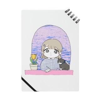 102号室(春) 女の子とねことチューリップ Notes