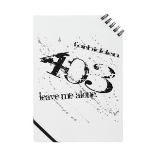 403 Forbidden Notes