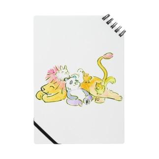 tomo-suのなかよしアニマルもっふもふ Notebook