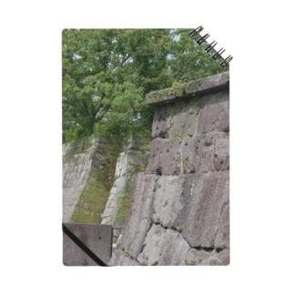 鹿児島城の石垣。 Notes
