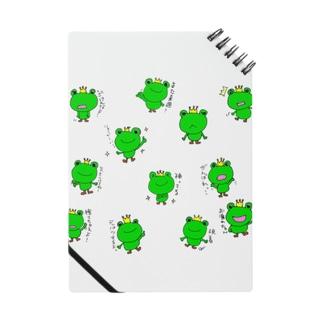 おぐちゃんねるのカエルちゃん ノート