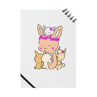 うさぎママとちびちゃんズ Notebook