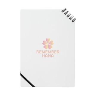 【¥1000分寄付】REMEMBER HANA チャリティーアイテム Notes
