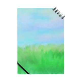 温かな夕陽の草原 Notes