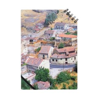 スペイン:セゴビア郊外の村の風景 Spain: view of a village near around Segovia Notes