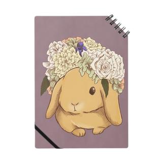 花冠と垂れ耳うさぎ Notes
