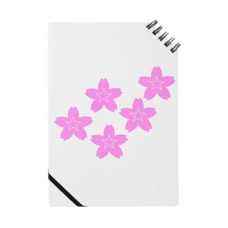星桜紋(流れ星ピンク) Star cherry blossom Crest (Shooting star pink)) Notes