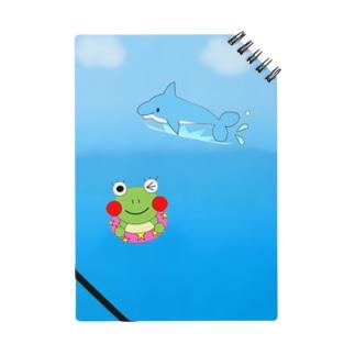 イルカとかえるさん Notebook