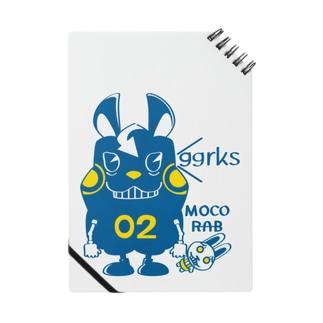CT124 モコモコラビット2号*ggrks Notes