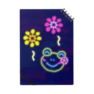 花火とかえるさん Notebook
