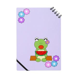スイカとかえるさん Notebook