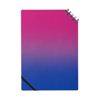 グラデーション プライドフラッグ バイセクシュアル Notes