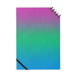 グラデーション プライドフラッグ ポリセクシュアル Notes