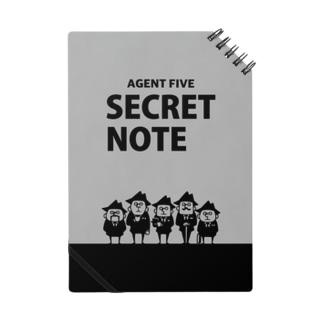 シークレットノート Notes