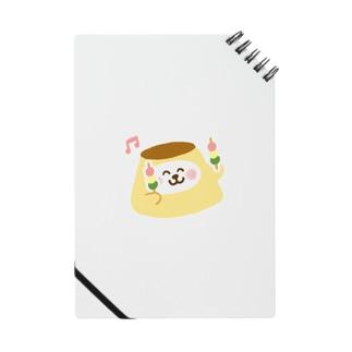 お団子を食べるプリン Notes