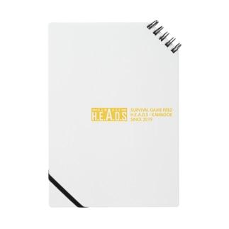 H.E.A.D.S ロゴ Notebook