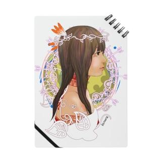 アメリカ大陸の少女B Notes