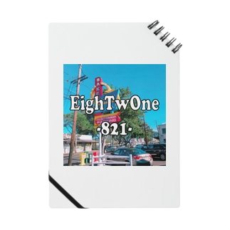 EighTwOne‐821-LOGO Notes