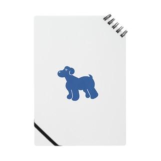 少し大きくなった青い犬 Notes