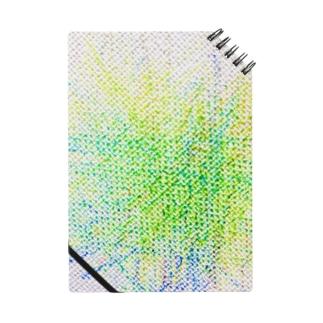 子供のらくがき【緑キャンバス】 Notes